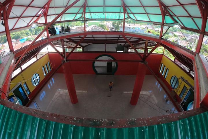 Melihat Pembangunan Masjid Laksamana Cheng Hoo di Jambi