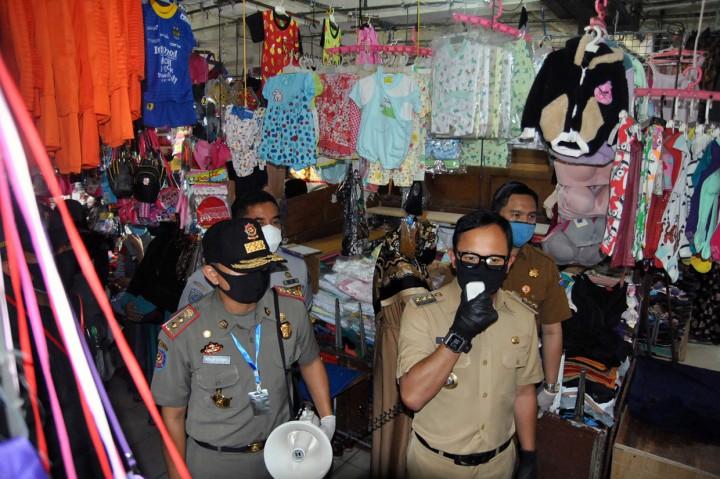 Seorang Pedagang di Pasar Baru Bogor Positif Covid-19