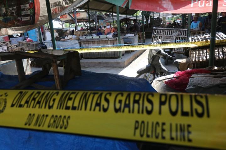 Ditutup Tiga Hari, Pasar Banjaran Kediri Kembali Dibuka