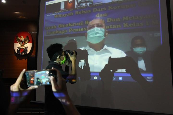 Wali Kota Nonaktif Medan Dzulmi Eldin Dituntut 7 Tahun Penjara