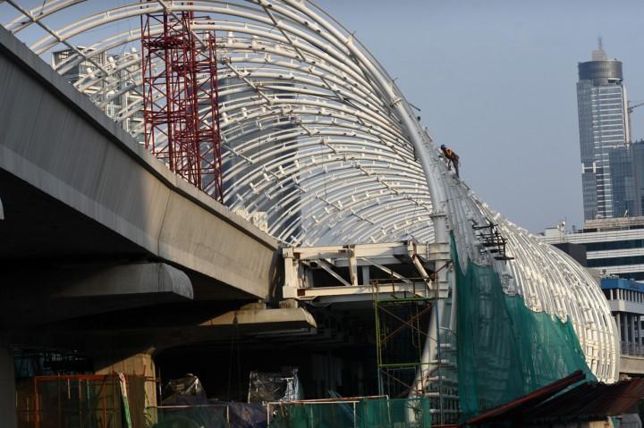 LRT Jabodebek Ditargetkan Beroperasi Juni 2021