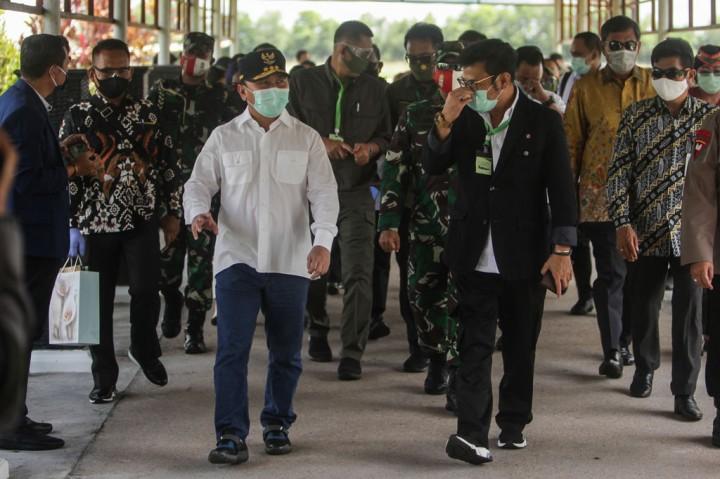 Mentan Kunjungan Kerja ke Kalimantan Tengah