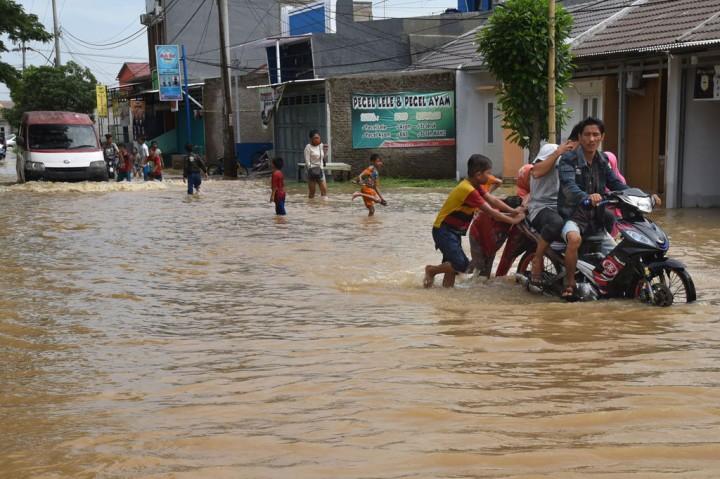 Banjir Rendam Ratusan Rumah di Serang