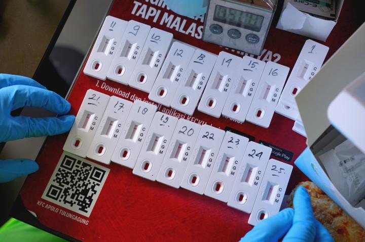 Rapid Test Massal Digelar di Pusat Perbelanjaan Tulungagung