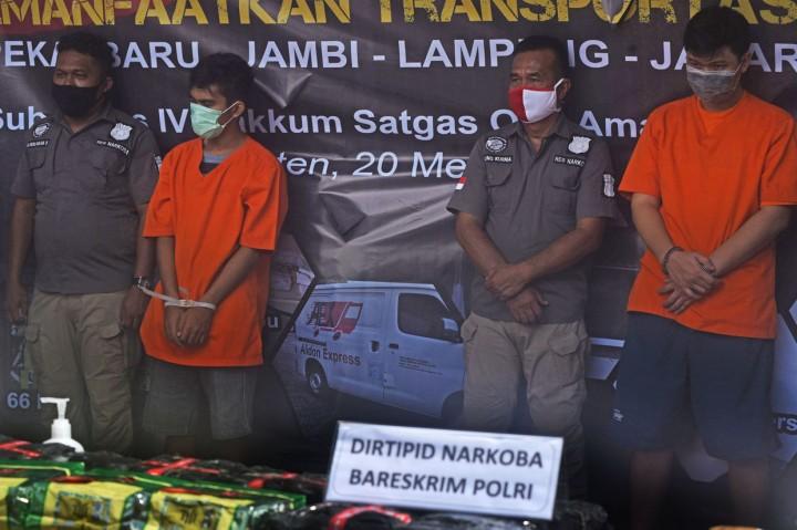 Polisi Gagalkan Penyelundupan 71 Kg Sabu di Bakauheni