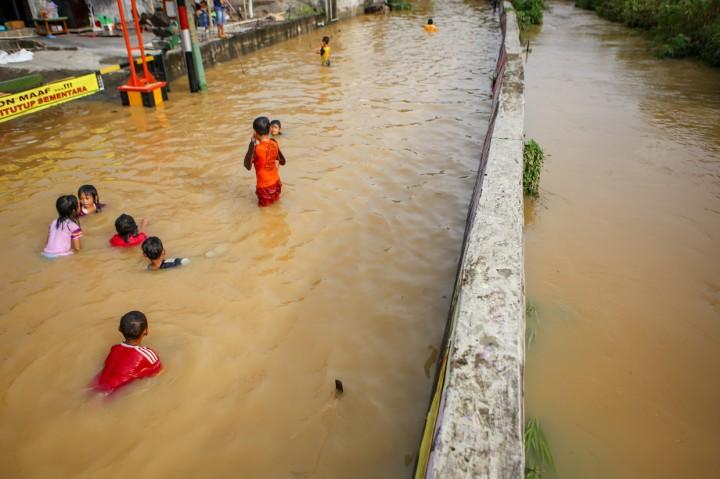 Banjir Rendam Tigaraksa Tangerang, 500 KK Terdampak