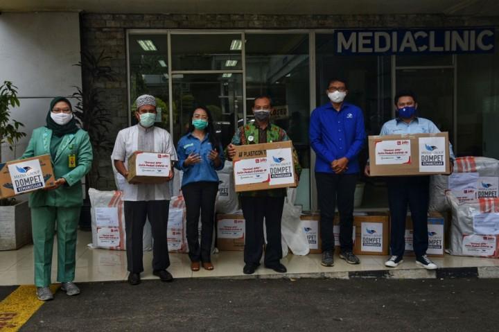 Media Group Salurkan APD untuk Tenaga Medis di 4 RS
