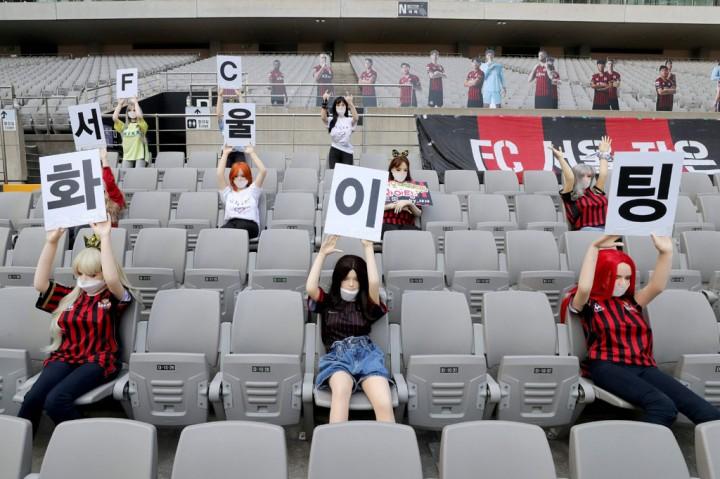 Buntut 'Boneka Seks', FC Seoul Didenda Rp1,2 M