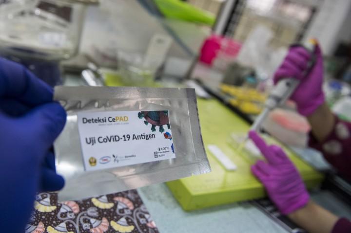 Rapid Test CePAD Antigen untuk Deteksi Virus Korona
