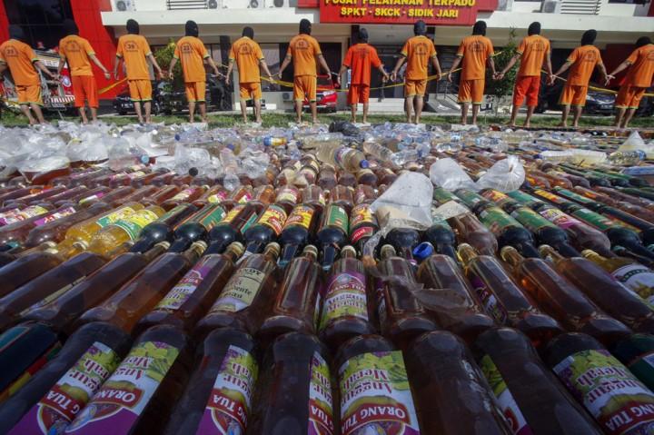 Operasi Pekat, Polres Bogor Ringkus 66 Tersangka