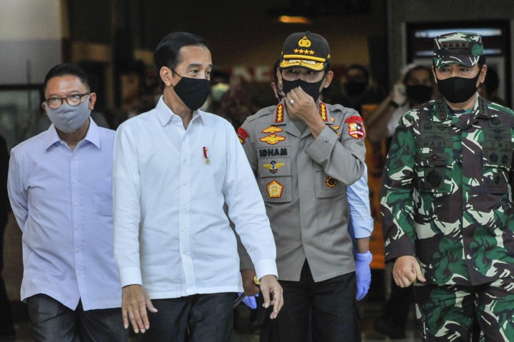 Jokowi Tinjau Kesiapan Penerapan New Normal di Bekasi