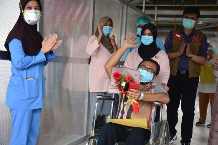 Pasien Covid-19 Terakhir di RSUD Arifin Achmad Riau Dinyatakan