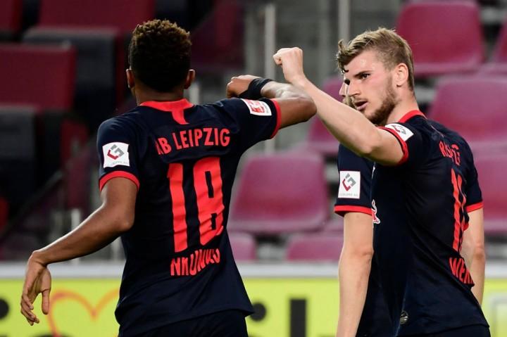 Tekuk Cologne, Leipzig Kembali ke Peringkat Ketiga