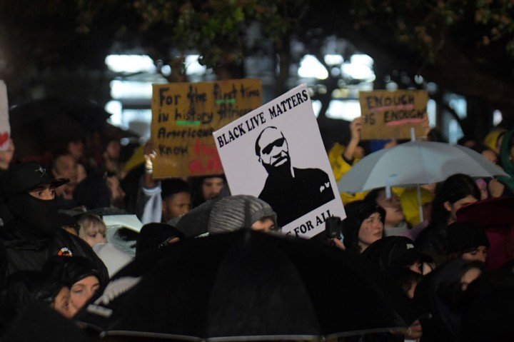 Warga Selandia Baru Protes Kematian George Floyd