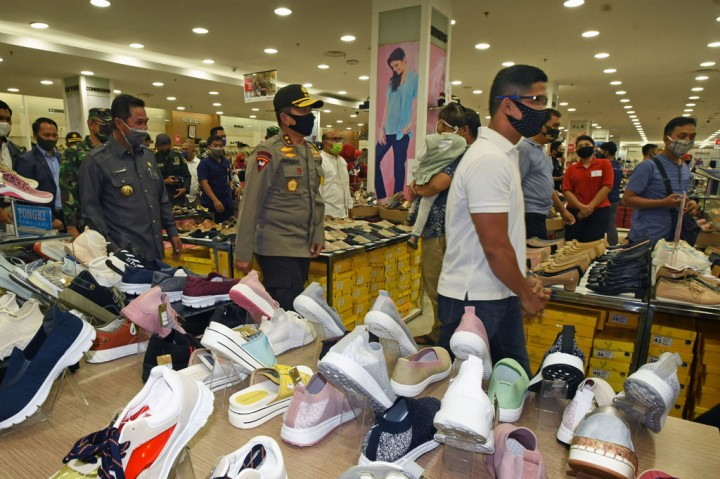 Kapolda Banten Tinjau Kesiapan New Normal