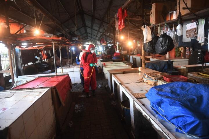 3 Pedagang Positif Covid-19, Pasar Minggu Jakarta Ditutup