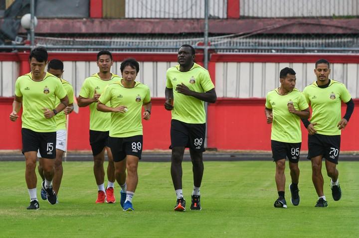Pemain Bhayangkara FC Gelar Latihan Mandiri Jelang Liga 1