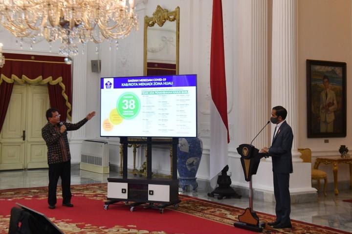 Jokowi Sebut Kebijakan Penanganan Covid-19 Berdasarkan Sains