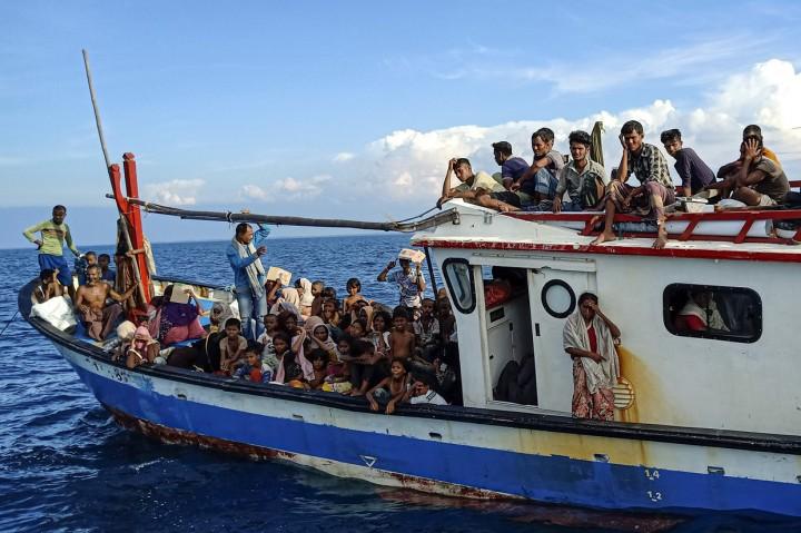 94 Pengungsi Rohingya Terdampar di Aceh Utara