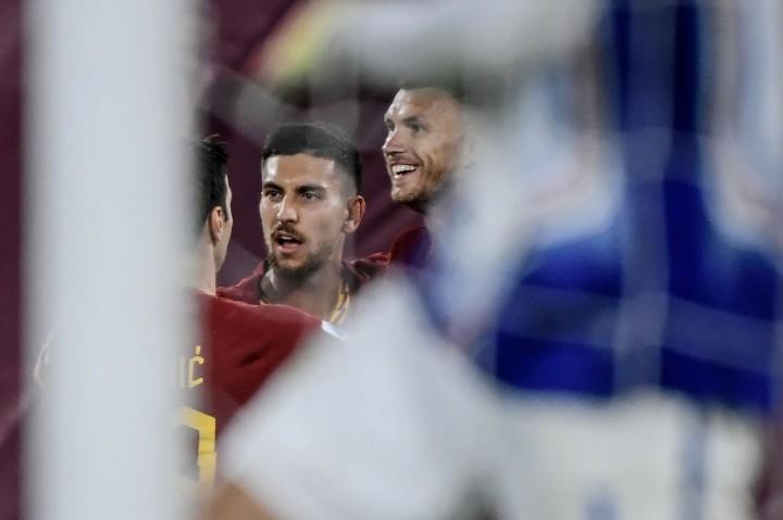 Edin Dzeko Bawa AS Roma Menang Atas Giallorossi