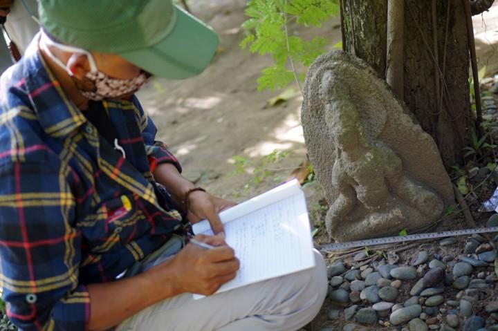 Arkeolog Identifikasi Temuan Benda Cagar Budaya di Tulungagung