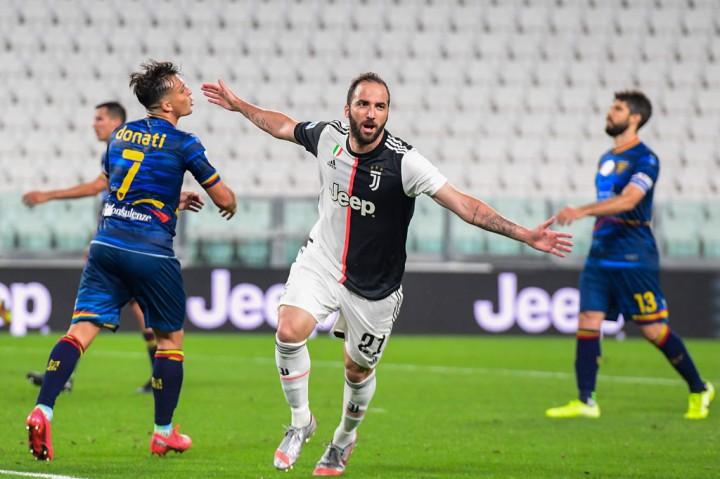 Juve Pesta Gol ke Gawang Lecce