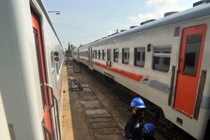 Pembatalan Perjalanan Kereta Api di Padang Diperpanjang