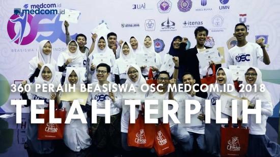 Kemeriahan Malam Penganugerahan Online Scholarship Competition Medcom.ID 2018