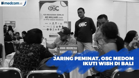 Jaring Peminat, OSC Medcom.id Ikuti Wish di Bali