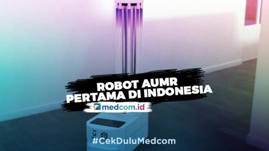 Telkom University Buat Robot AUMR Pertama di Indonesia