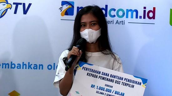 Pemenang OSC Zennita Amrina Bercita-cita Biayai Kuliah Adiknya