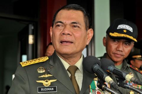 Kasad TNI Budiman Naik Dan Lima