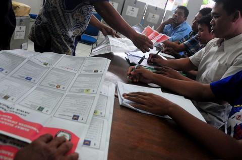 Penghitungan Suara Ricuh di Gorontalo