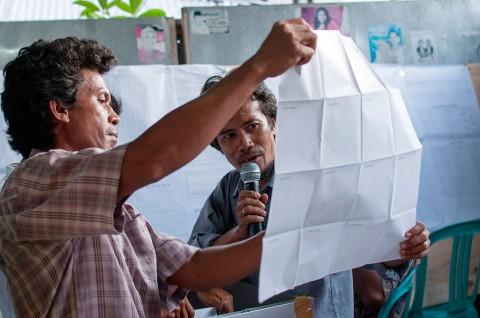 Caleg PAN Mengamuk Protes Penghitungan Suara