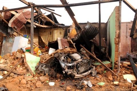 Bom Meledak di Lokasi Nobar Nigeria, 14 Warga Tewas