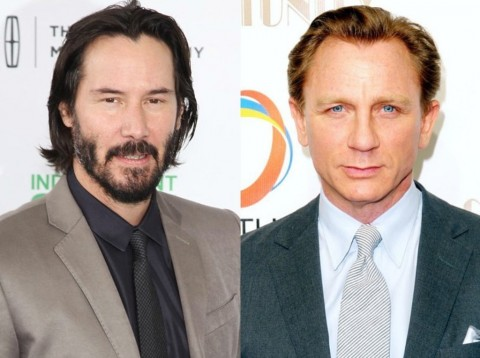 Keanu Reeves Gantikan Daniel Craig di Film 'The Whole Truth'