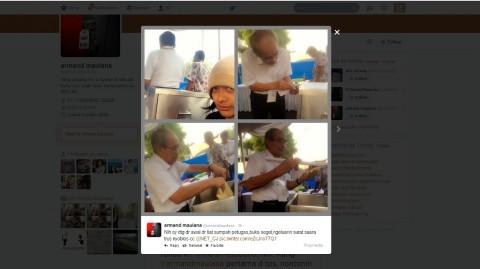 Armand Maulana Datang Terlalu Pagi ke TPS