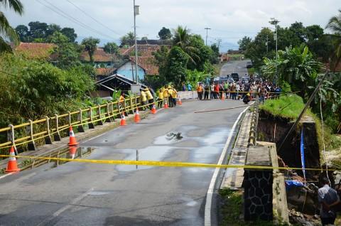 Besok, Jalur Jembatan Cibaruyan Dibuka