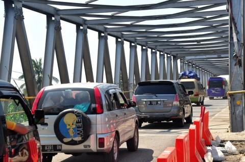 Pekan Depan Jembatan Comal bisa Dilintasi Kendaraan Bertonase Besar