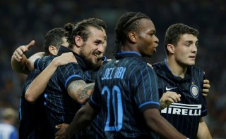 <i>Hattrick</i> Kovacic Antar Inter ke Europa Leauge