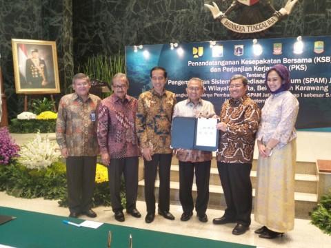 Jokowi Sambut Baik Proyek Penyediaan Air Minum