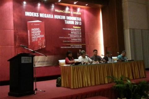 ILR Rilis Buku Hasil Survei Penerapan Hukum di Indonesia