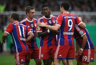 Hamburg Sukses Hadang Bayern Muenchen