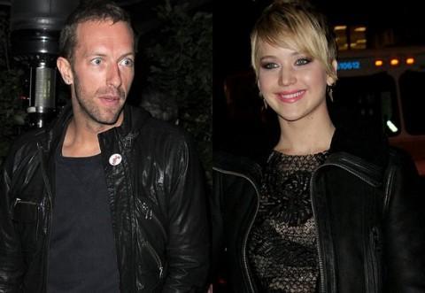 Vokalis Coldplay Kini Pacari Jennifer Lawrence