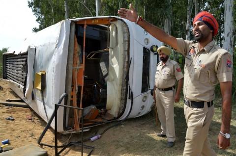 Kecelakaan Bus di India Tewaskan Sembilan Orang