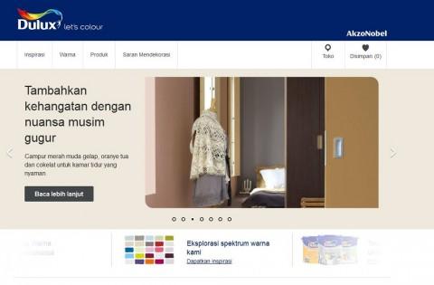 Dulux Indonesia Perbarui Situs Resminya