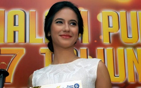 Resep Wajah <i>Glowing</i> ala Pevita Pearce