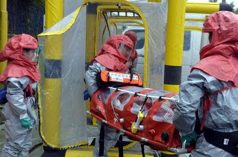 Trombosit <i>Suspect</i> Ebola di Madiun Menurun