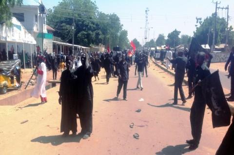 Bom Guncang SMA Nigeria, Puluhan Mayat Bergelimpangan