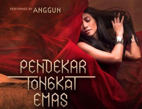 Anggun Isi Soundtrack Film 'Pendekar Tongkat Emas'